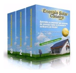 Projeto (manual) De Placa Solar Fotovoltaica Frete Gratis