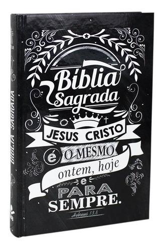 Bíblia Sagrada Nova T. L. Hoje Mission Capa Dura Lettering