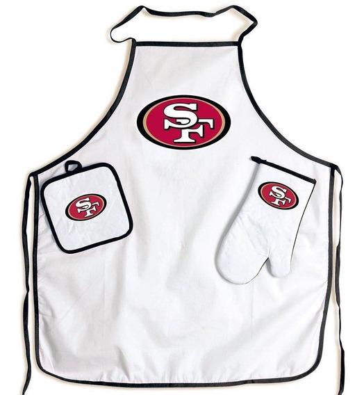 Kit Churrasqueiro Tailgate San Francisco 49ers Nfl