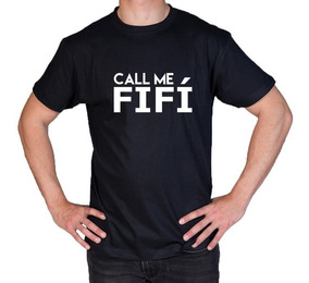 Camiseta Estampada Call Me Fifí