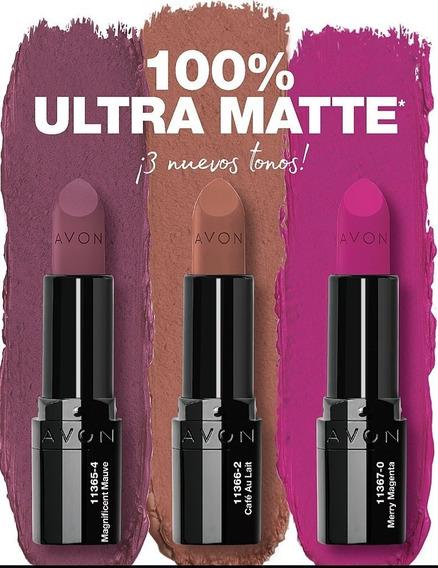 Avon Labial Ultra Matte - Stock Disponible- Mendoza