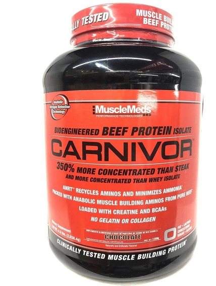 Carnivor 4.5 Lbs Sabor Chocolate Musclemeds
