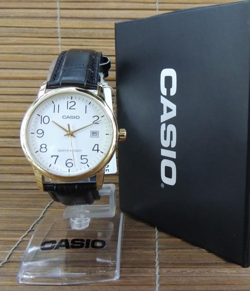 Relógio Casio Masculino Analógico Mtp-v002gl-7b2udf - N F