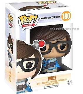 Funko Pop Overwatch Mei 180 Original Pop! Scarlet Kids