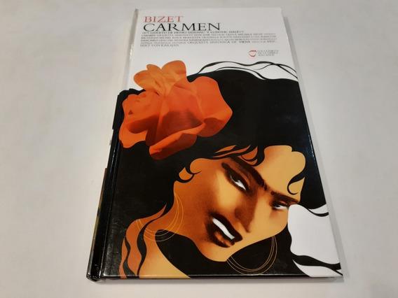 Clásicos De La Ópera: Carmen, Bizet - 2 Cd Made In Eu Nm