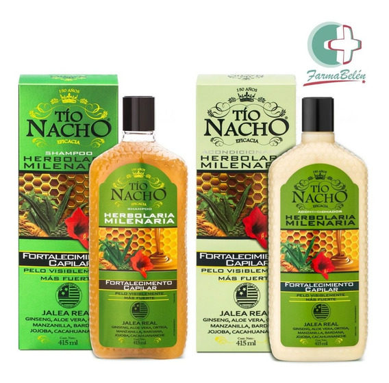 Tio Nacho Set Fortalecedor Shampoo + Acondicionador 415ml
