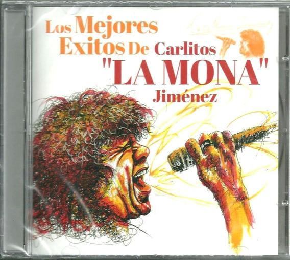 Los Mejores Éxitos De Carlitos La Mona Jiménez. Cd Nuevo