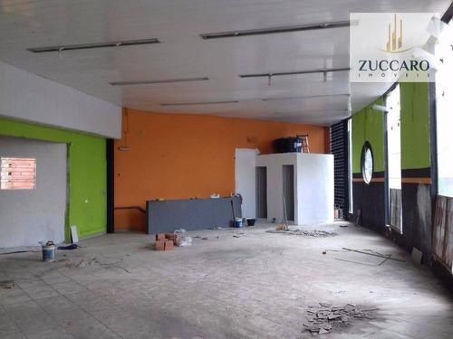 Salão Comercial Para Locação, Centro, Guarulhos - Sl0581. - Sl0581