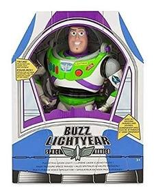 Toy Story Boneco Falante Buzz Lightyear 30cm 15 Frases