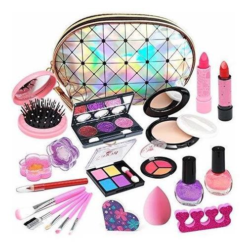 Imagen 1 de 7 de Maquillaje Lavable Para Niños Y Niñas  Kit De Maquillaje P
