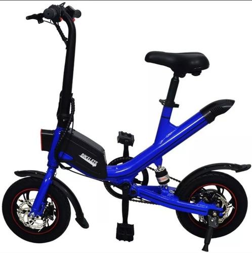 Bicicleta Elétrica E-bike Bikelete Alumínio Bat Lítio Aro 12