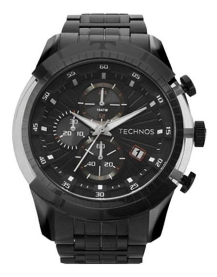Relógio Technos Masculino Cronografo Js15eq/4p Caixa Grande