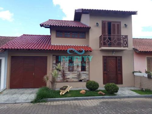 Sobrado De Condomínio Com 3 Dorms, Passos Dos Ferreiros, Gravataí - R$ 350 Mil, Cod: 706 - V706