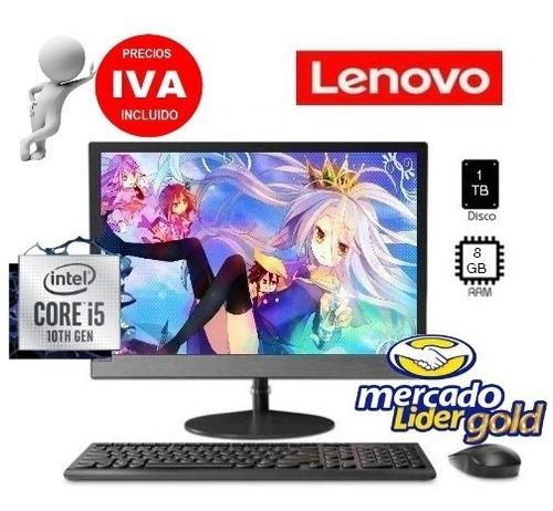Imagen 1 de 6 de Computador Todo En Uno Lenovo I5 1000gb + 8gb Ram All In One