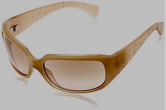 Oculos De Sol Calvin Klein Mod.838s Original Dourado