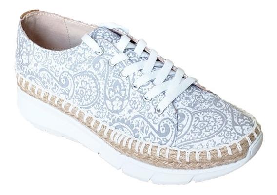 Hispana Zapato Para Dama Gris 6508