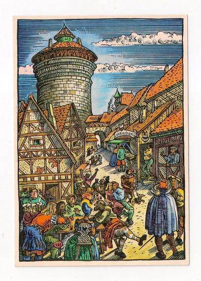Alemania Tarjeta Nuremberg, Lebkuchen-schmidt Empresa De Pan