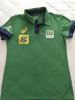 Camisa De Viagem Seleção Brasileira De Vôlei.