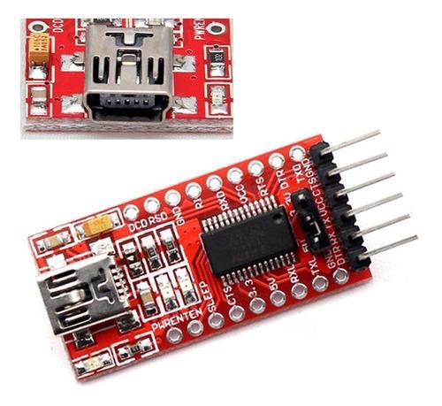 Conversor Usb Serial Ttl Ft232rl - Ftdi - Arduino