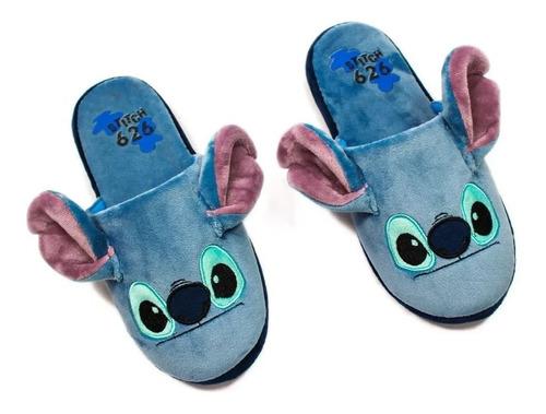 Chinelo De Quarto Disney Stitch G 39/40/41 Oficial Zc