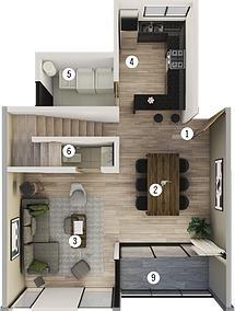 *exclusivo Penthouse En Venta Tipo 1 Condominio Viu Homes En Zibata !!