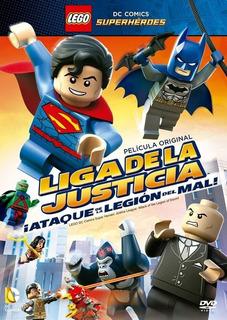 Dvd Pelicula Lego: Ataque De La Liga De Legion Del Mal Nuevo
