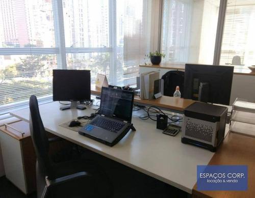Conjunto Comercial Para Alugar, 110m² - Brooklin - São Paulo/sp - Cj2421