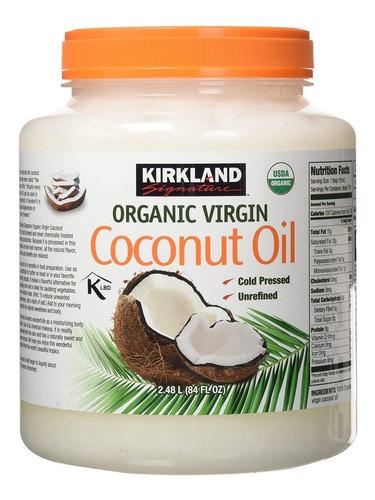 Aceite De Coco Organico 100% Virgen Americano 414ml / 14oz