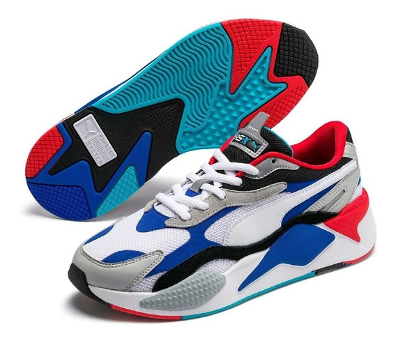 Zapatillas Puma Rs X Puzzle Unisex - Exclusivas 39.5 Arg