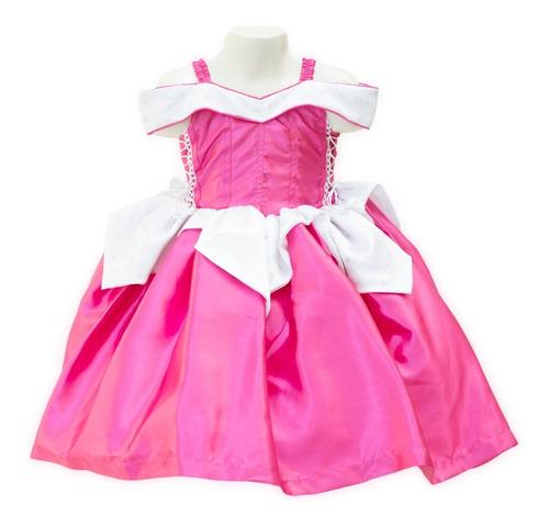 Imagen 1 de 6 de Vestido Bella Durmiente Princesa Aurora Disfraz