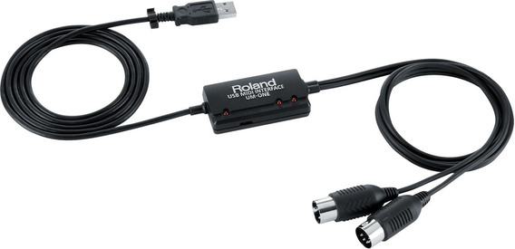 Interface Roland Um One Mk 2 Midi Usb Um-one-mk2