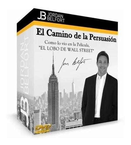 Persuasión En Linea Recta Jordan Belfort Lobo De Wall Street