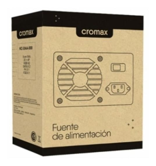 Fuente Para Pc Cromax Kc-dda-500