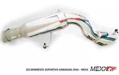 Imagem 1 de 9 de Escapamento Kawasaki Z900 Taylor Made Mexx Full Cod.164