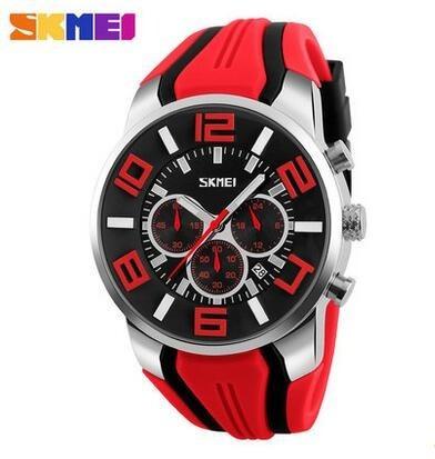 Reloj Deportivo Skmei 9128 Original Resistente Al Agua Acero