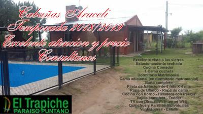 Cabañas En Alquiler Temporada Trapiche San Luis