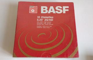 50 Diskettes Marca Basf . Formateados. Muy Poco Uso