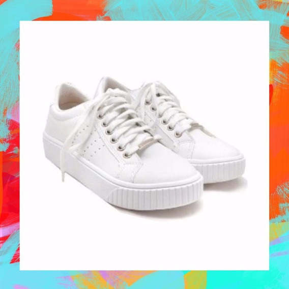 Zapatillas Savage Mujer Mod Lr 26 Blancas