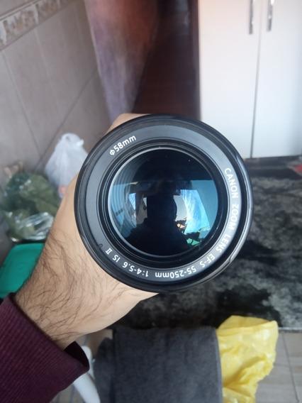 Lente 55-250mm Canon