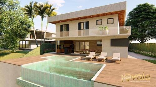 Imagem 1 de 3 de Casa Com 5 Suítes À Venda Declive Vista Maravilhosa - Condomínio Residencial - São José Dos Campos/sp - Ca2109