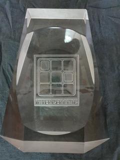 Decoración De Cristal Vintage Interceramic