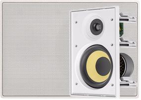 Caixa Acústica Embutir Retangular Jbl Ci6r Arandela Gesso