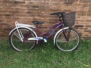 Bicicleta Dama Paseo (muy Poco Uso)