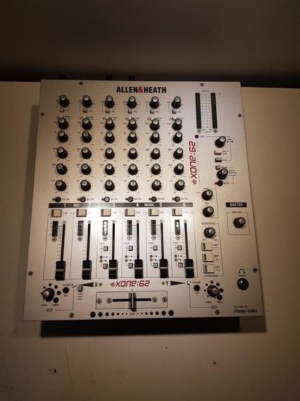 Mixer Allen & Heath Xone 62 - Impecável Uso Pessoal