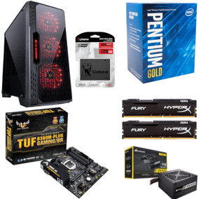 Pc Lumia Pentium G5400 B360m Plus Hx 16gb Vs400 Ssd 120gb