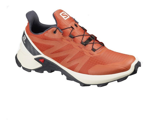 Zapatillas Salomon Supercross Trail Running Hombre Naranja - $8.999,00