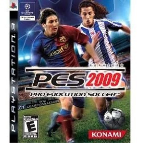 Jogo Pes Pro Evolution Soccer 2009 Ps3 Mídia Física Lacrado