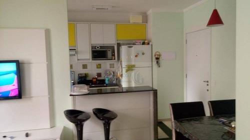 Apartamento À Venda, 51 M² Por R$ 290.000,00 - Vila São João - Barueri/sp - Ap1496