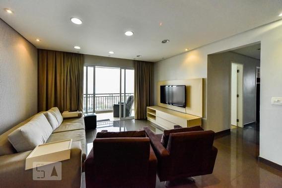 Apartamento No 11º Andar Mobiliado Com 3 Dormitórios E 2 Garagens - Id: 892950780 - 250780