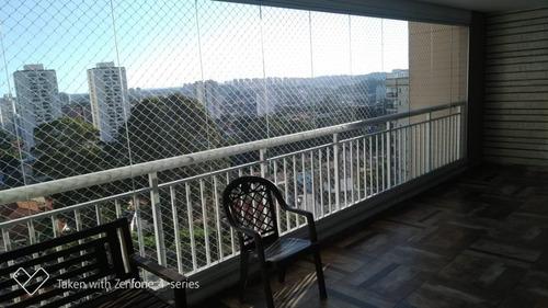 Apartamento Com 4 Dormitórios À Venda, 178 M² Por R$ 1.450.000 - Vila Suzana - São Paulo/sp - 12394
